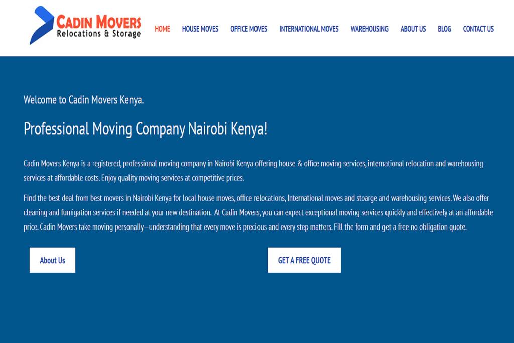 best movers in nairobi, moving companies in nairobi kenya